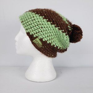 Neff Knit Touque Brown & Green
